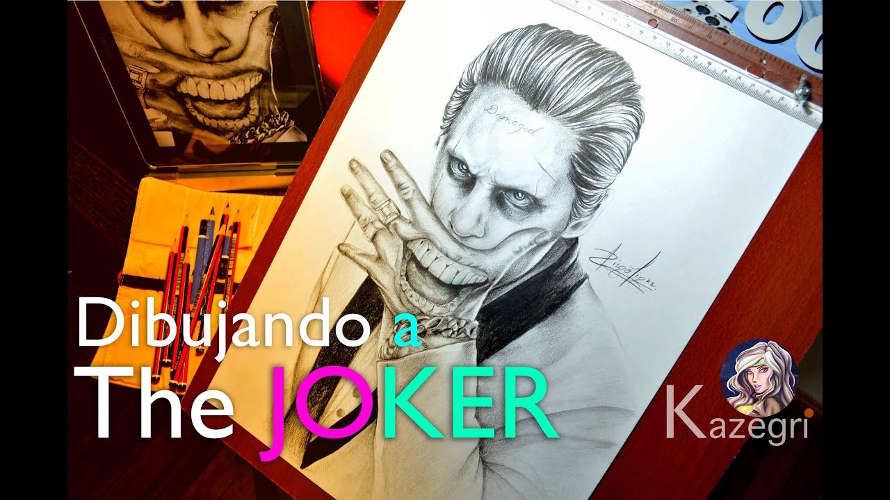 Joker Suicide Squad  dibujo a lpiz  YouTube