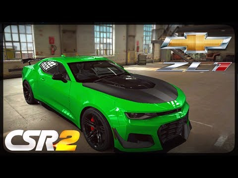 CSR Racing 2 - Camaro ZL1 1LE delivery and live races - Milestone prize