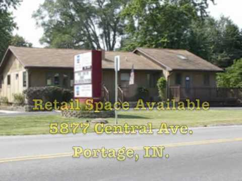 Now Leasing: Retail Space Available at 5877 Central Ave. Portage Indiana