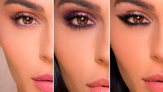 3 EYE MAKEUP LOOKS WITH 1 PALETTE