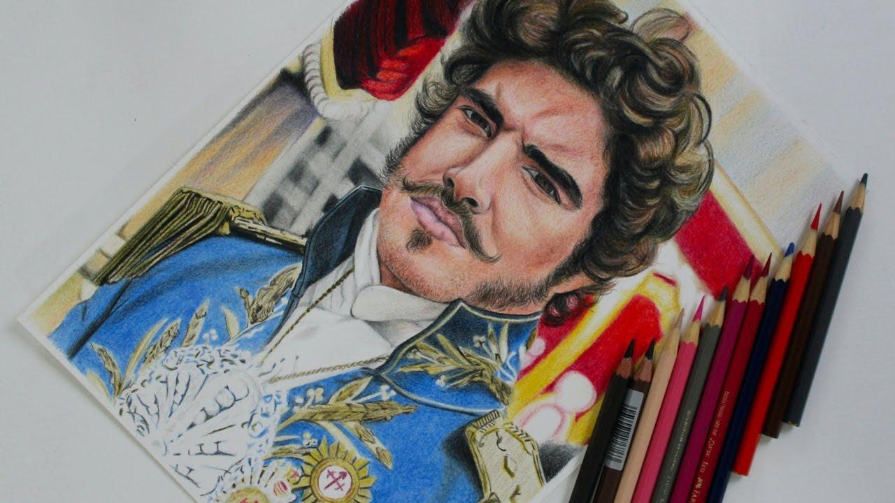 Desenhando O Caio Castro Como Imperador Dom Pedro I Video