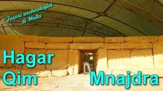 I templi megalitici di Hagar Qim e Mnajdra - Tesori archeologici di Malta