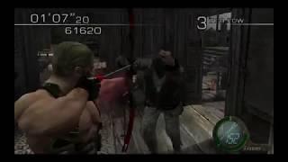 Resident Evil 4 The Mercenaries - Krauser Waterworld (62,910)