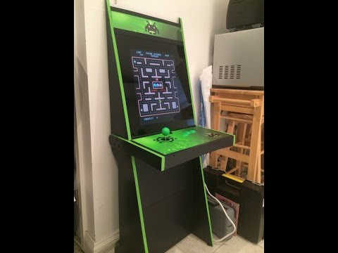 Vigolix Invader Arcade Cabinet