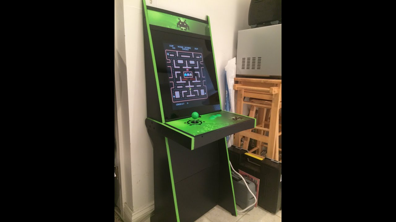 Vigolix Invader Arcade Cabinet Youtube