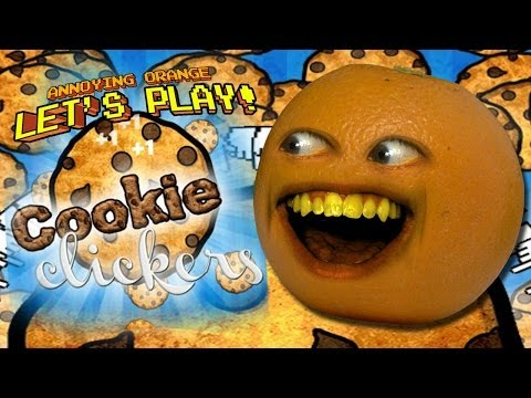 Annoying Orange Let's Play COOKIE CLICKERS!