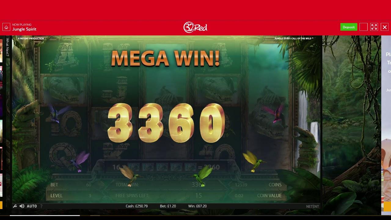 Jungle Spirit Online Slot Video Review - 32Red Blog