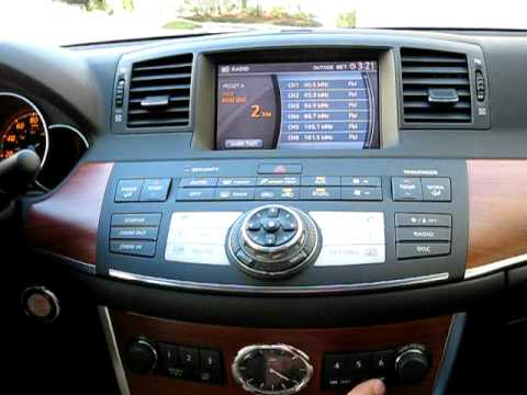 pxamg operation in 2007 infiniti m35 youtube. Black Bedroom Furniture Sets. Home Design Ideas
