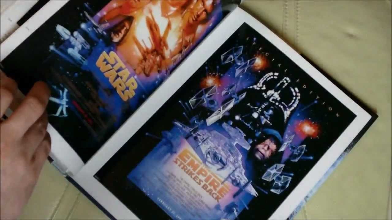 star wars poster book (preview) - youtube