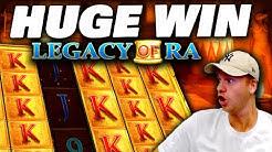 HUGE WIN on Legacy of Ra Megaways!