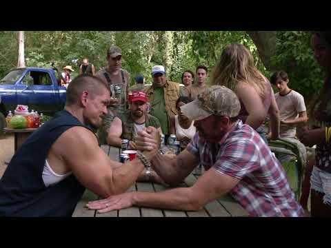 Steve Howey Arm Wrestling  Huge Biceps