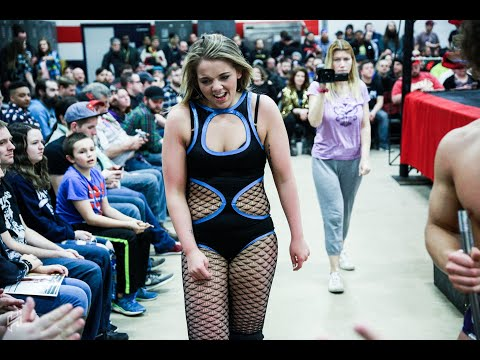 Ace Austin & Maddison Miles vs Brett Domino & DL Hurst - Limitless Wrestling Intergender Mixed