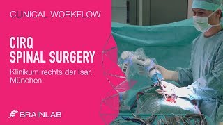 Cirq — Clinical Workflow for Spine Surgery
