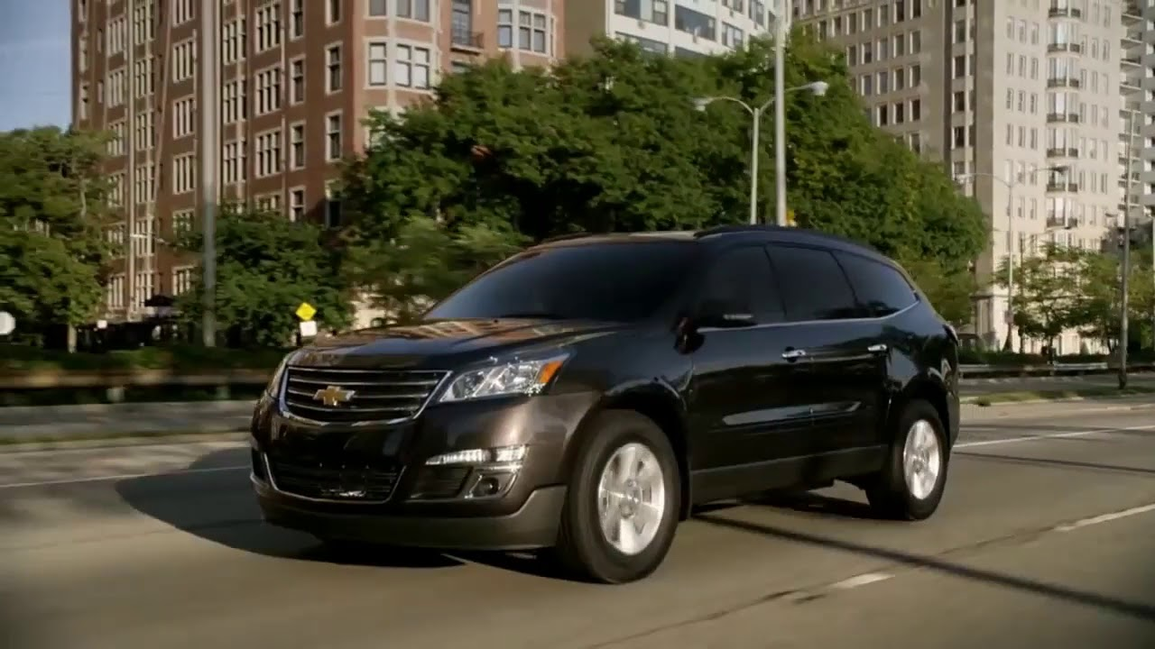 2017 Chevrolet Traverse Review And Road Test
