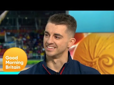 Max Whitlock Becomes Britain's Most Successful Male Gymnast | Good Morning Britain