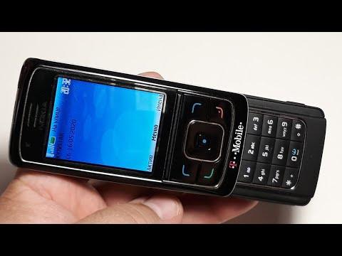 Nokia 6288. Капсула времени с русским языком 2006 год. Ретро телефон от T-Mobile из Германии
