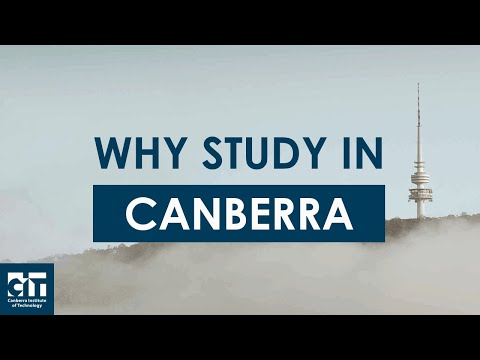 Why Study In Canberra?