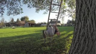 Dominik Sky - Window Jumps / Музыка: Алексей Рыбников - Погоня