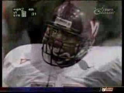 1998 Syracuse vs. Virginia Tech Ending