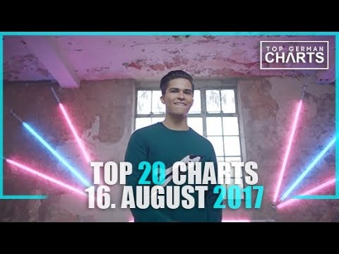 TOP 20 SINGLE CHARTS - 16. AUGUST 2017