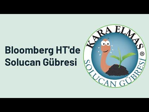 Mehmet Emin Pursa Bloomberg HT Kanalında Solucan Gübresini Anlatıyor