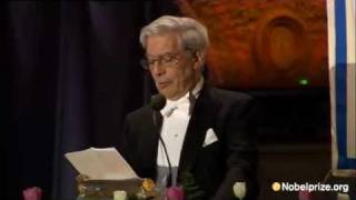 Nobel Prize in Literature 2010, Mario Vargas Llosa, Banquet Speech