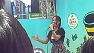 2011年5月5日 広島で開催されたフラワーフェスティバルでの石井杏奈ちゃ...