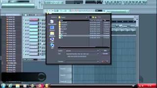 como tocar mp3 en fl studio 10