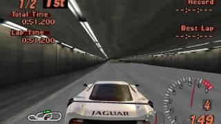 jaguar xj220 gt race car arcade race