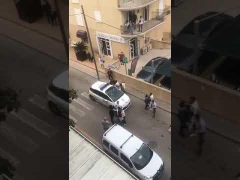 Así han vivido los vecinos de Cala Rajada la brutal agresión de dos agentes