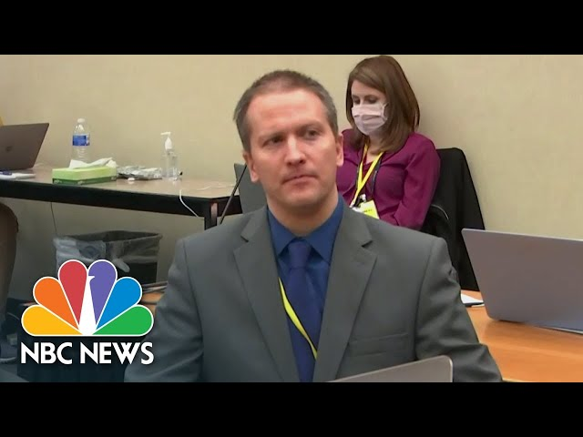 Replay: Derek Chauvin Found Guilty On All Charges In Murder Of George Floyd   NBC News