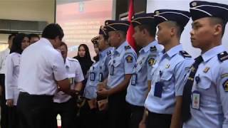 Pengambilan Sumpah PNS 2017 dan Orientasi CPNS 2018 kanwil Kumham DKI Jakarta