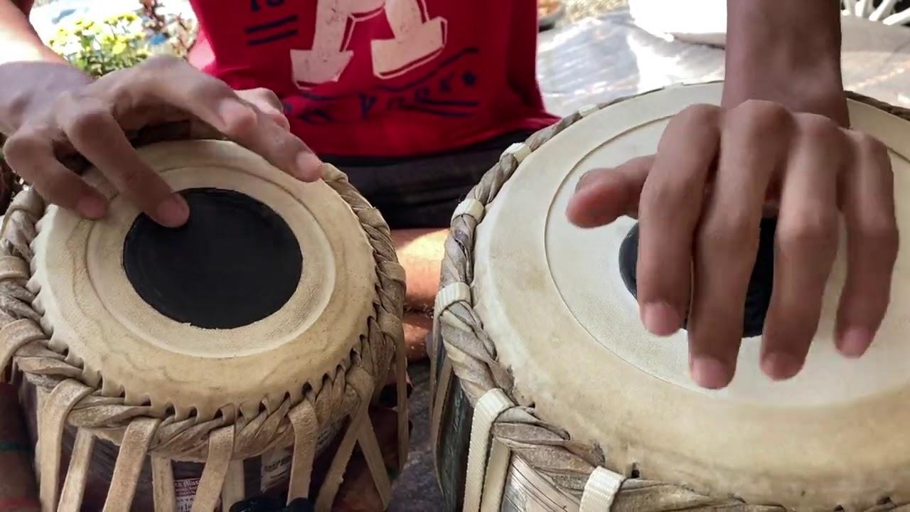 Taal Jhaptaal | Tabla Practice Sessions :P | Chiara & Darren