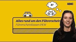 Führerscheinklasse B und BE - Die Anhänger-Regelungen | ADAC