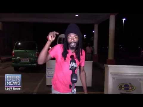 Gyptian Arrives In Bermuda For SVR Performance, July 29 2015