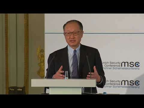 """Jim Yong Kim, President of the World Bank, about """"the future of rising aspirations"""""""