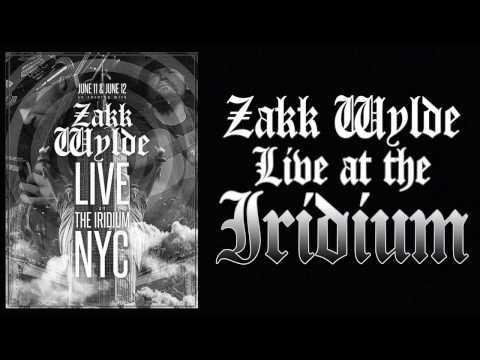 Zakk Wylde Live at the Iridium NYC