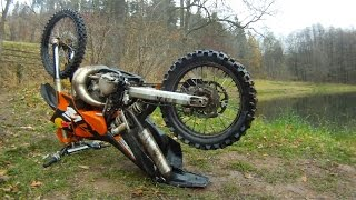 KTM EXC 200 Jump to the water SIWY
