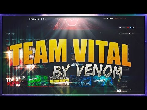 VENOM PRESENTS - TEAM VITAL PROMOTIONAL