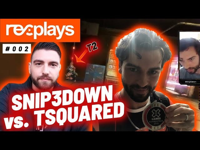 SNIP3DOWN vs. TSQUARED ON APEX?! - Twitch Highlights & Fails :: RECognize #2