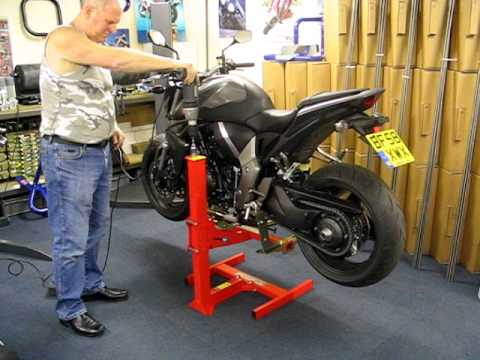 Eazy Rizer Big Blue Motorcycle Lift