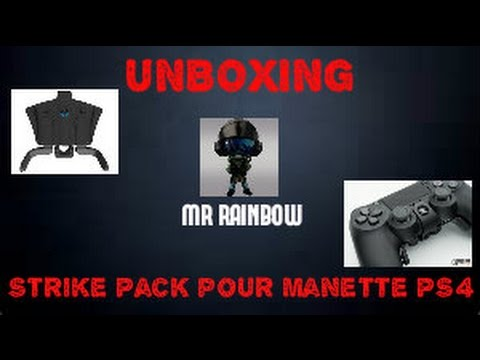 unboxing du strike pack pour ps4 rainbow six si ge youtube. Black Bedroom Furniture Sets. Home Design Ideas