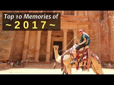 Top 10 Travel Memories of 2017