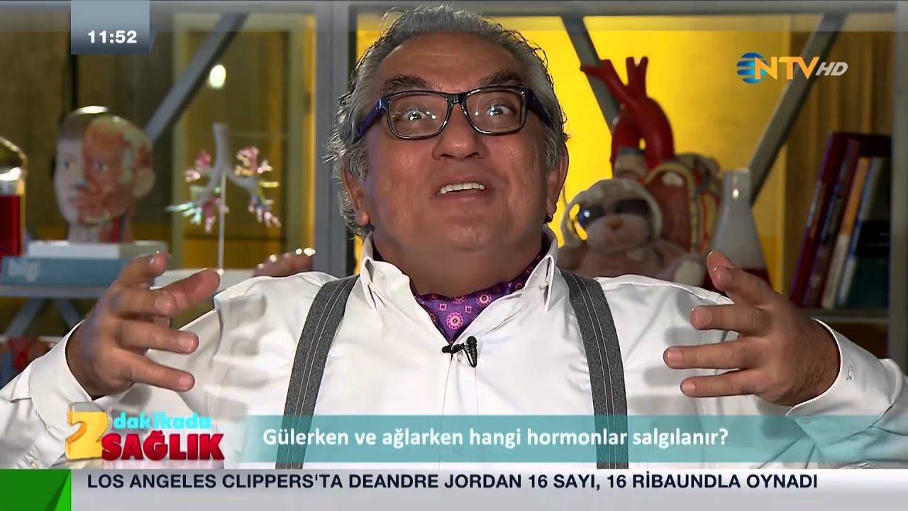 NTV İzle, 2 dakikada sağlık: Gülerken ve ağlarken hangi hormonlar salgılanır?)