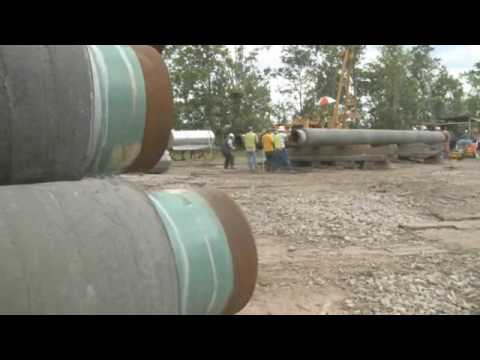 Denbury's Green Pipeline Construction