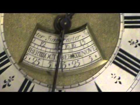 Antique Clocks : Antique Grandfather Clock : Equation of Time
