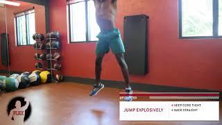 FLEX EXERCISES: BODYWEIGHT JUMP SQUAT
