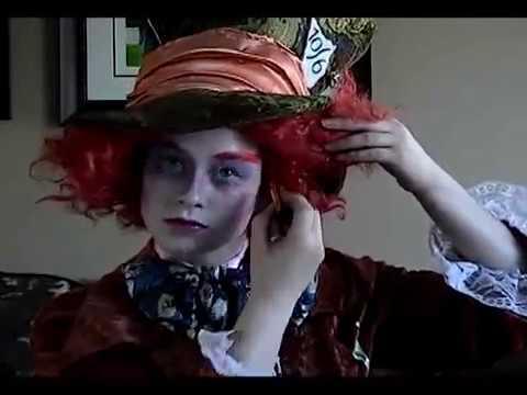 Maquillage du chapelier fou tutoriel youtube - Maquillage chapelier fou ...