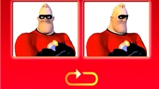 The Incredibles Game: Velocipod Bowling Gameplay