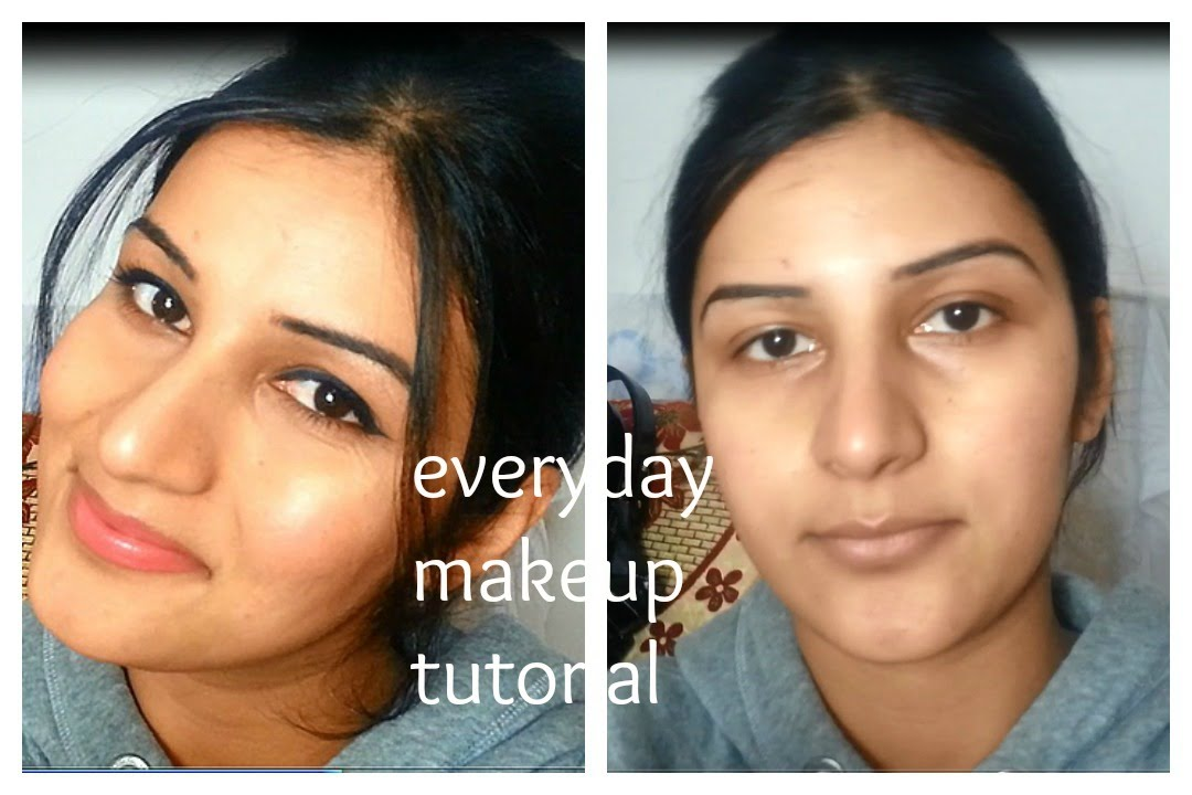 MY EVERYDAY MAKEUP ROUTINE N TUTORIAL FOR INDIAN/BROWN/OLIVE/TAN SKIN TONE Affordable And Easy ...